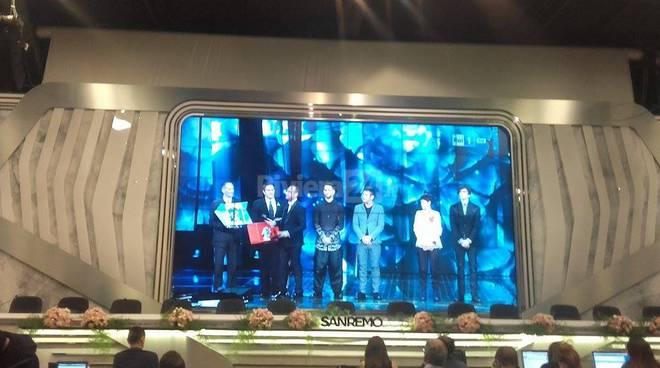 Toti premia Gabbani al Festival
