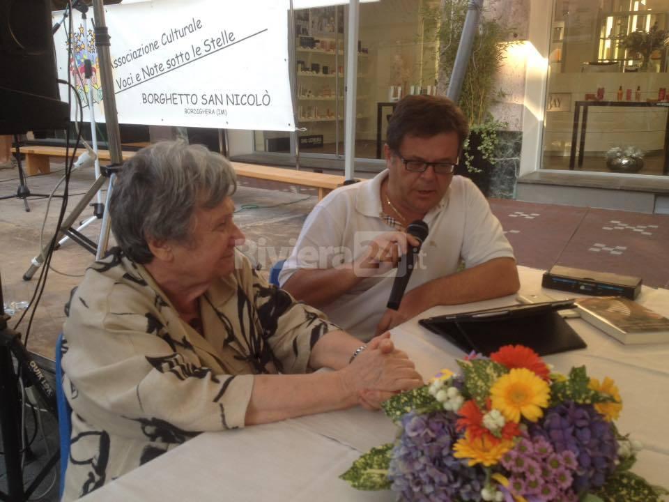 Ancora un riconoscimento ad un autore ospite del Bordighera Book Festival