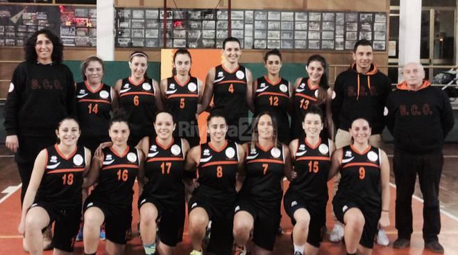 Basket Club Ospedaletti arriva al secondo posto in classifica