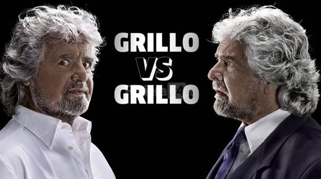 """Beppe Grillo torna in teatro con il nuovo spettacolo """"Grillo vs. Grillo"""""""