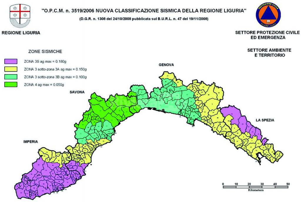 Edilizia e sismica comuni della provincia di imperia - Sistema catasto tavolare elenco comuni ...