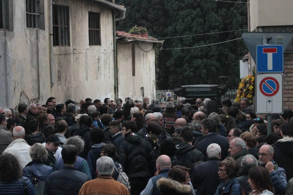 Funerali Duccio Melani alla chiesa di San Rocco
