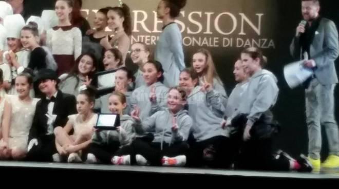 """Grandi successi per la scuola di danza Dance In Motion al concorso internazionale """"expression"""""""
