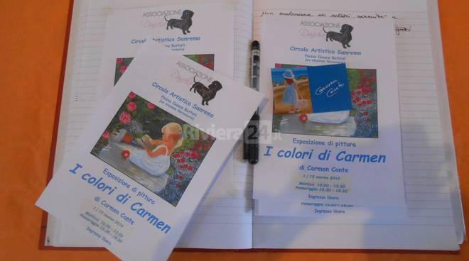 I colori di Carmen, mostra di autofinanziamento dell'Ass. Daniela Conte