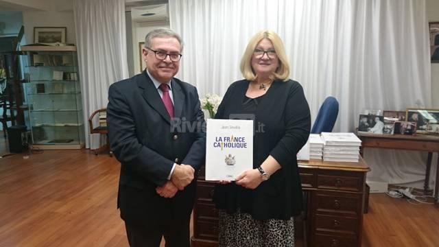 Ieri sera, Jean Sévillia ha presentato il suo nuovo libro 'La France catholique'