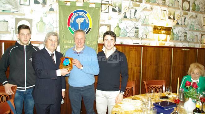 Il panathlon Club Imperia-Sanremo omaggia Loris Revelli e Gianluca Vernassa
