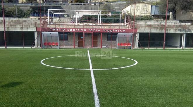 Le immagini del centro sportivo Fabio Taggiasco di Vallebona