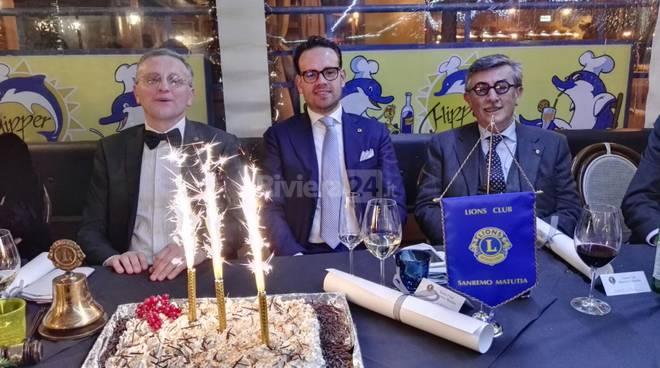 lions club sanremo matutia charter 2016
