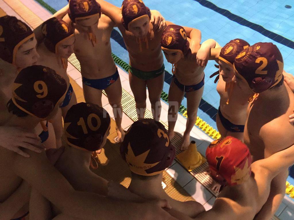 Rari Nantes Imperia: sconfitte le squadre giovanili maschili