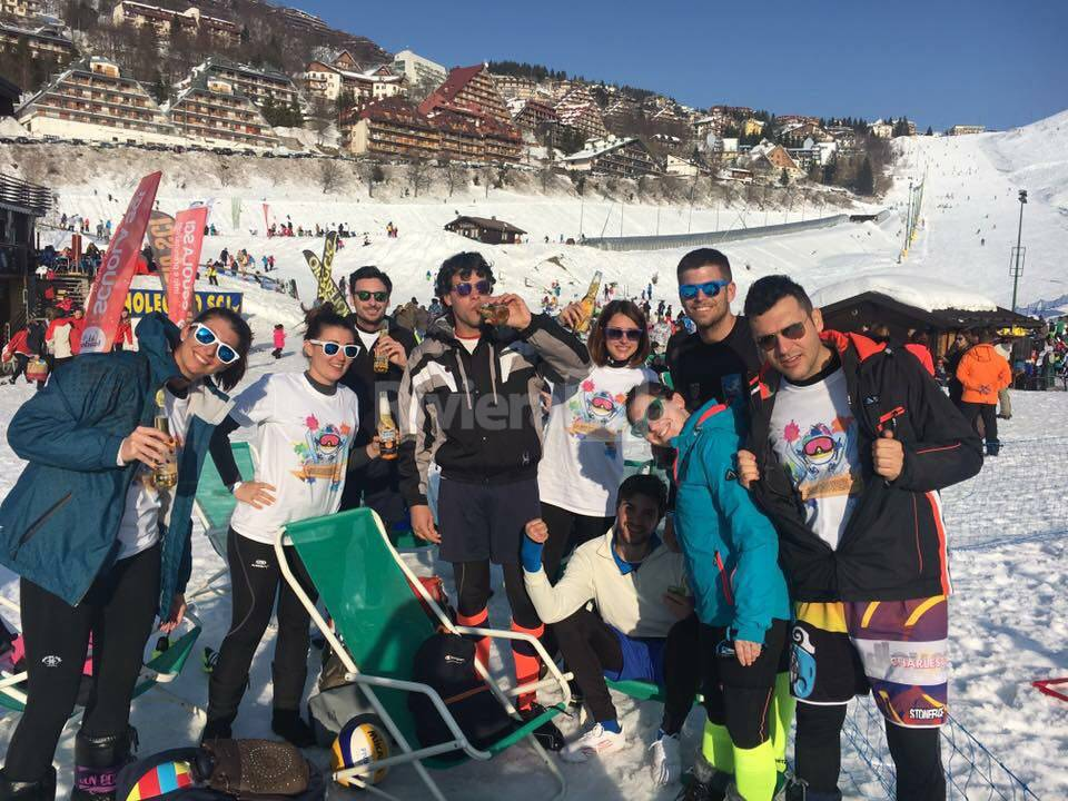 riviera24 - Snow Volley di Prato Nevoso