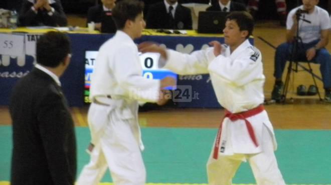 Soddisfazione per l'atleta dello Judo Club Ventimiglia