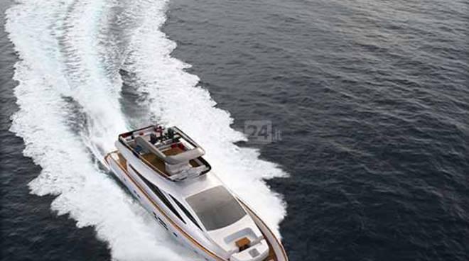 """Un'eccellenza sanremese sbarca su Sky: la famiglia Amerio presenta a """"The Boat Show"""" l'Amer 94"""