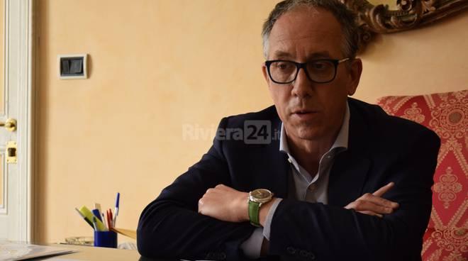 Conferenza stampa nuova giunta comunale Sanremo