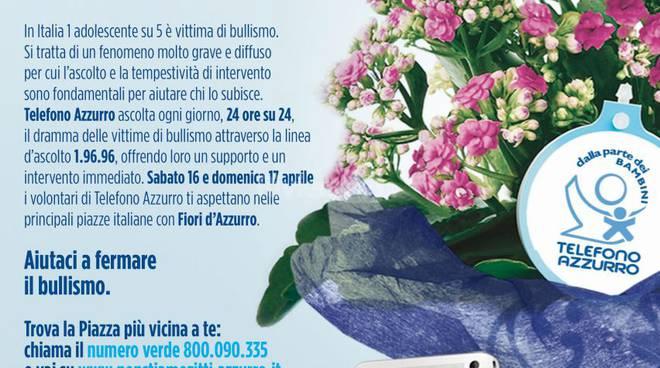 Riviera24 - Fiori d'Azzurro contro il Bullismo anche in Provincia di Imperia