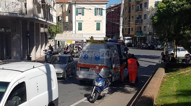 incidente arma taggia croce verde