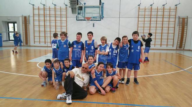 riviera24 -Aquilotti junior del Sea Basket Sanremo
