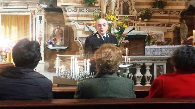 Riviera24 - Conferenza a Triora dei Carabinieri per gli anziani