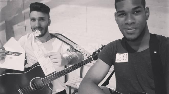 riviera24 - Gabriele Caramello e Davi Luiz Moraes Dos Santos a Talent Show Matteo Maragliotti