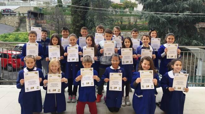 riviera24 - Gli alunni della primaria Asquasciati