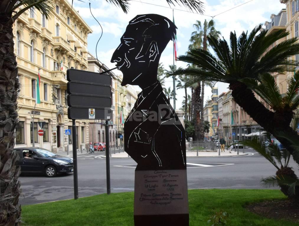 """Riviera24 - L'omaggio di Sanremo a Giuseppe """"Pipin"""" Ferrari"""
