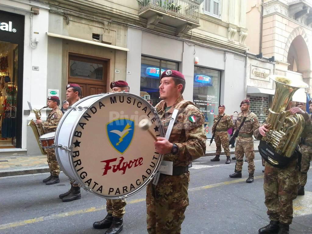 Riviera24 - La sfilata dell'Associazione Nazionale Paracadutisti d'Italia