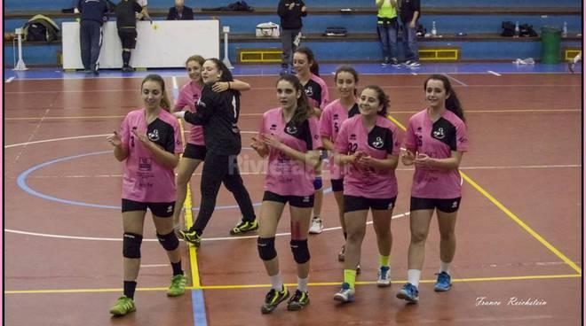 riviera24 - Le ragazze del Riviera Handball under 16