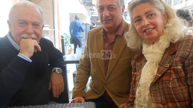 Riviera24 - Lions Gianni Carbone, Danilo Papa, Sara D'Amico