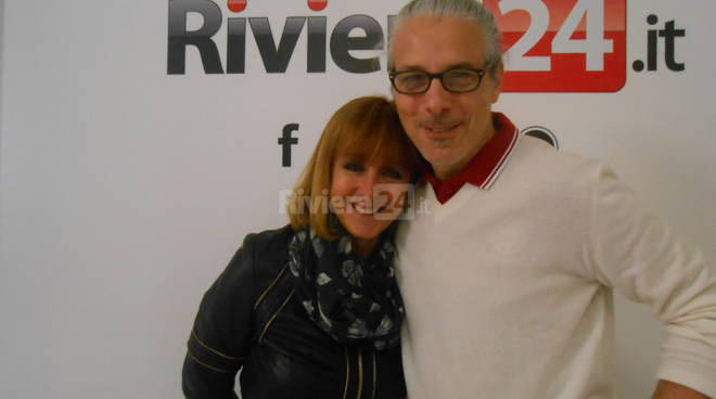 Riviera24 - Marilena Scacchetti e Massimo Ormea Anffas Sanremo