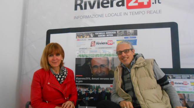 Riviera24 - Marilena Scacchetti e Max Ormea Anffas Sanremo