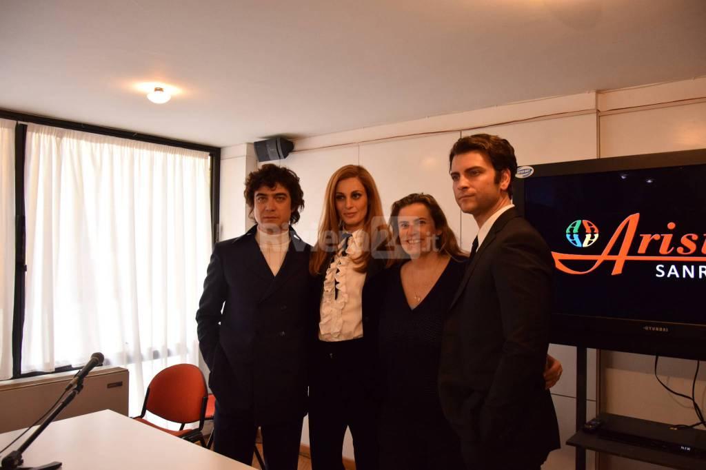 Riviera24 - Presentazione del film Dalida all'Ariston