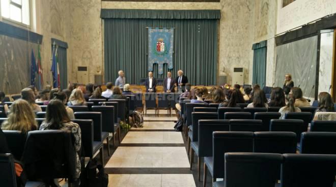 riviera24 - Ragazzi del Liceo Amoretti e i colleghi di Friedrichshafen