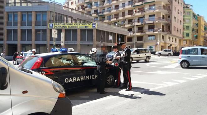 riviera24 - sanremo carabinieri posto di blocco