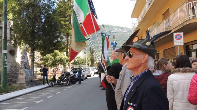 Taggia, le immagini della Festa della Liberazione