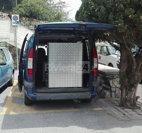 auto disabile imperia