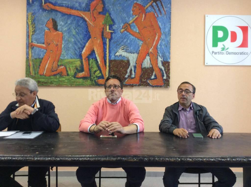 conferenza stampa pd ventimiglia autosospensione