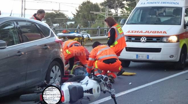 incidente stradale bordighera