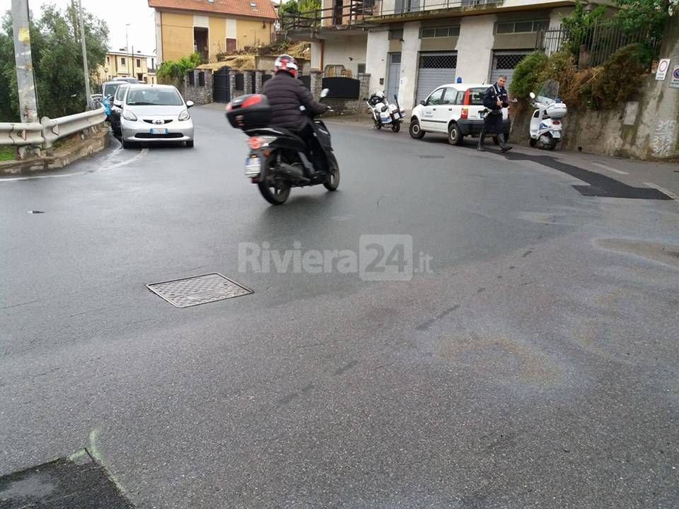 incidente via duca abruzzi