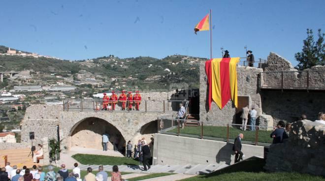Le immagini dell'inaugurazione del Castello di Taggia