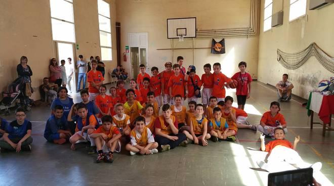riviera 24 bambini basket 'Istituto Maria Ausiliatrice di Vallecrosia