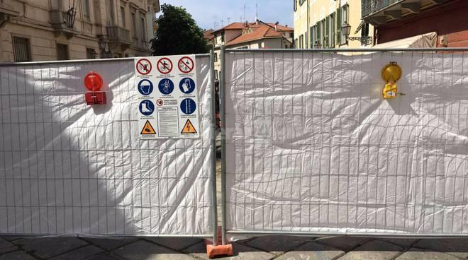 riviera 24 -  lavori in via Cascione: Carabinieri del Nucleo Tutela Patrimonio Artistico