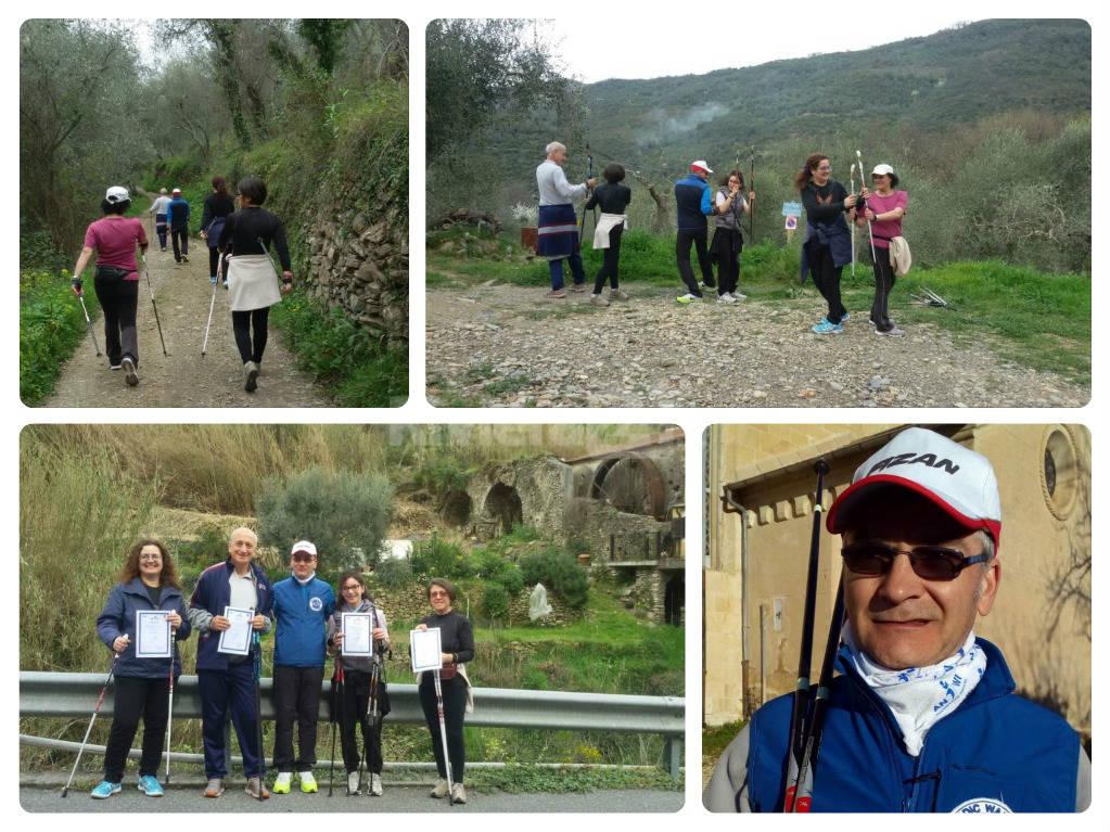riviera 24 - nordic walking arma di taggia dario donatello