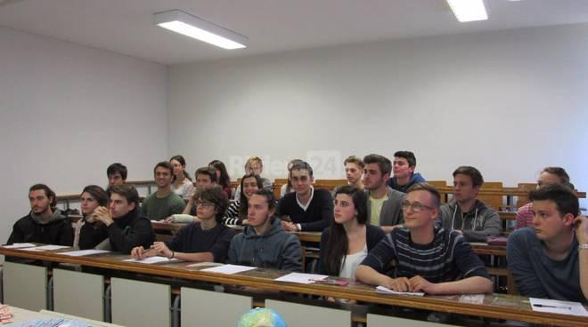 Riviera24 Aido Liceo Scientifico Vieusseux  Imperia