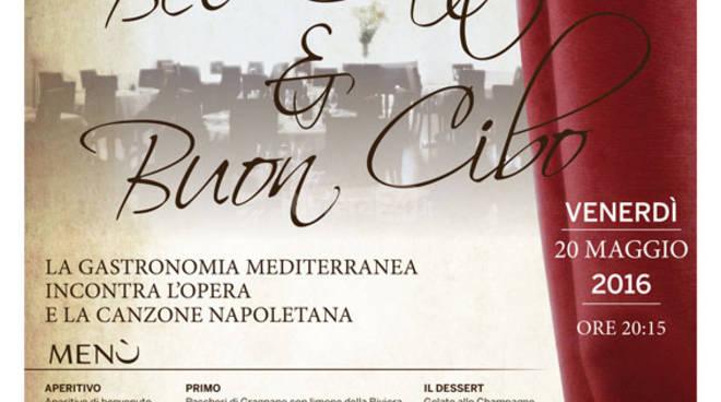 """riviera24 - """"Bel Canto & Buon Cibo"""" con il soprano Fiorella Di Luca al Ristorante Buca Cena"""