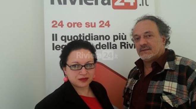 Riviera24 - Enzo Mazzullo e Giovanna Uva
