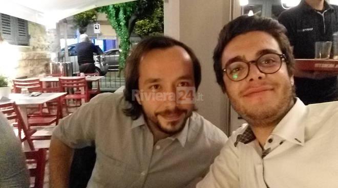 riviera24 - Federico Baio e Davide Damonte candidati lista PD