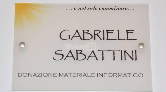 """riviera24 - Intitolata un'aula del """"Colombo"""" a Gabriele Sabattini"""