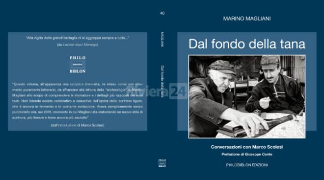 """Riviera24 - libro """"Dal fondo della tana"""", Scolesi - Magliani"""