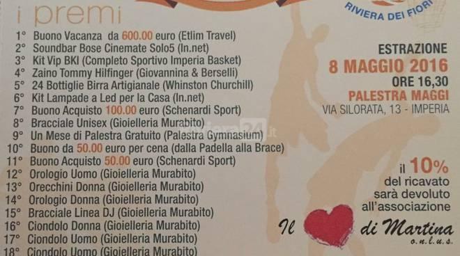 riviera24 - Lotteria Imperia Basket - Riviera dei Fiori