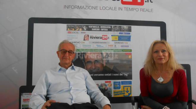 Riviera24 -Mariateresa Anfossi e Antonio Falzone Asociazione Italia Israele