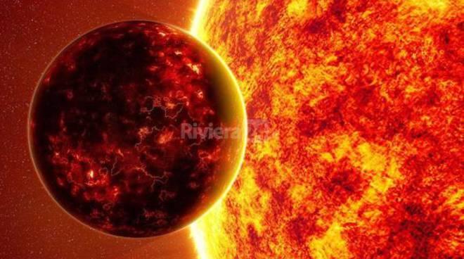 Riviera24 - Mercurio, sole, transito
